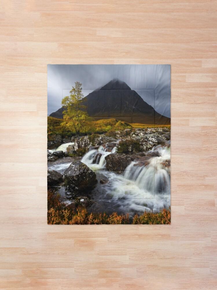 Alternate view of Buachaille Etive Mor. Glen Coe. West Highlands. Scotland. Comforter