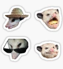 Oppossums Sticker