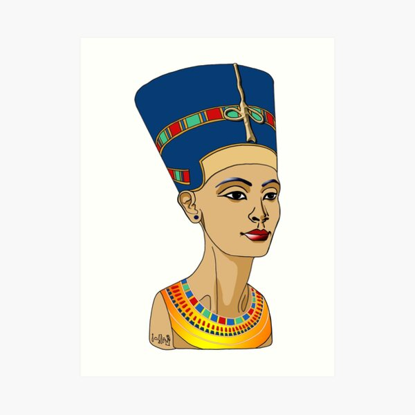 NOFRETETE I Königin von Ägypten  Kunstdruck