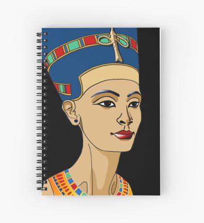 NOFRETETE I Königin von Ägypten  Spiralblock