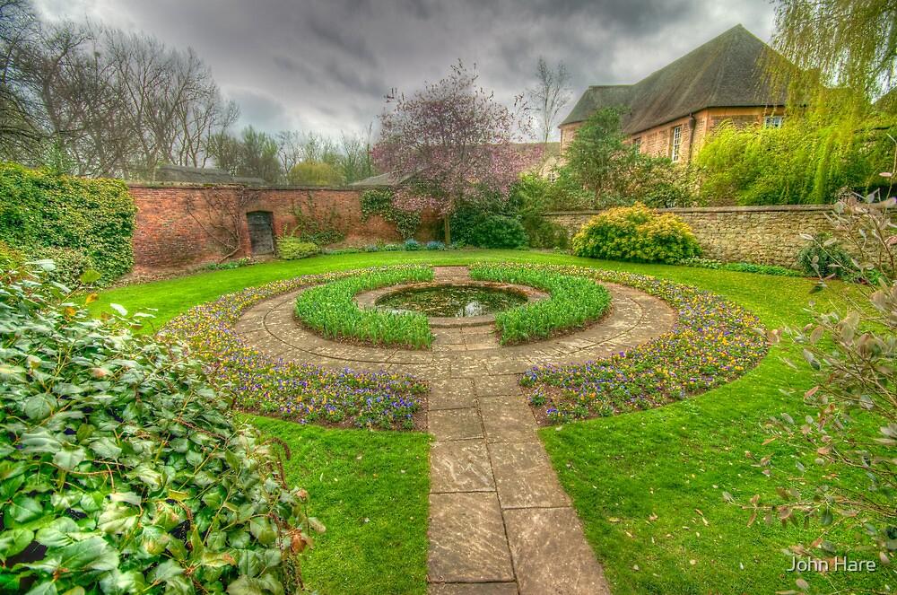 Christ Church Oxford Walled Garden by John Hare