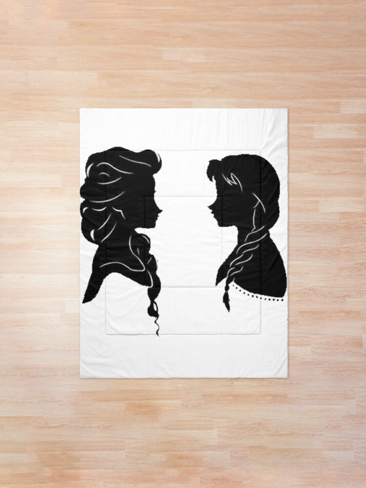 Alternate view of Sisters Silhouette Comforter