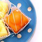 orange and lemon fancies.. by Michelle McMahon