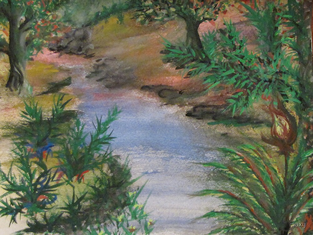 Pod - in watercolor by maxy