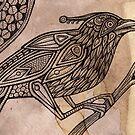 Totem Bird by Lynnette Shelley