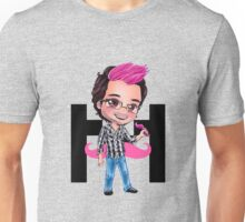 PINKIPLIER - Markiplier pink hair chibi2 Unisex T-Shirt