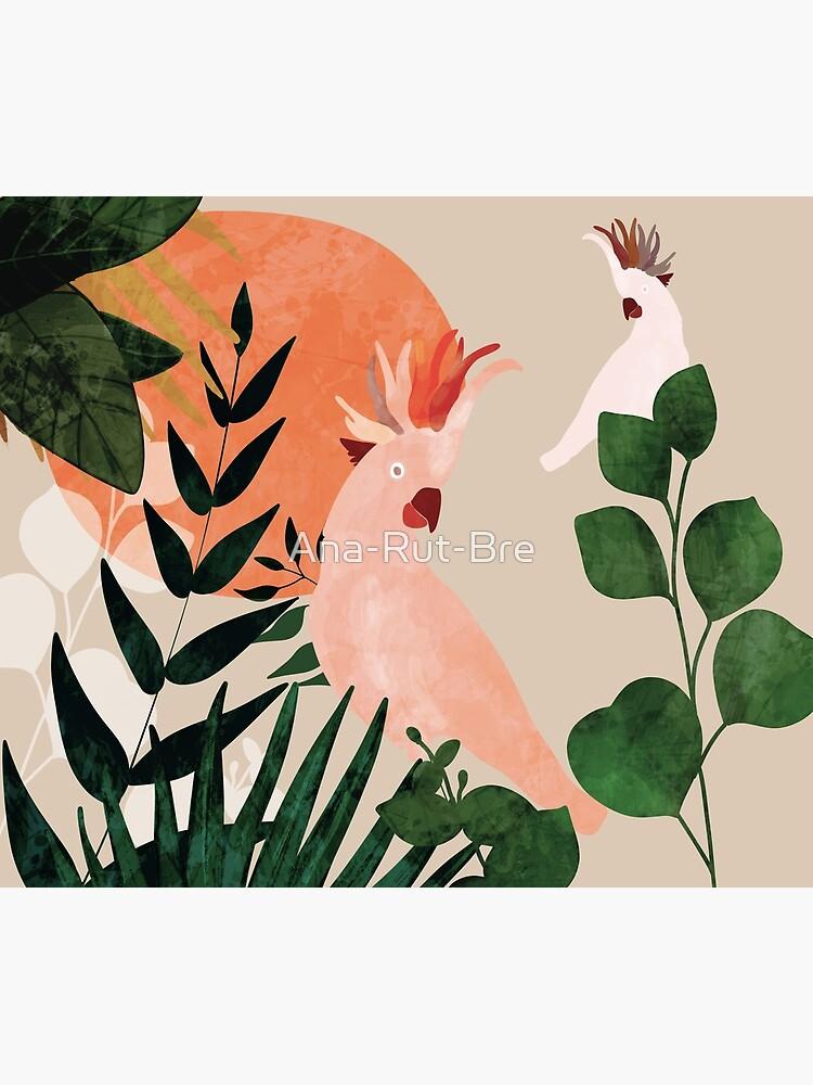 Cockatoo jungle modern by Ana-Rut-Bre
