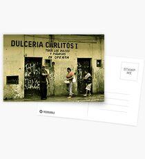 Dulceria Carlitos Postcards