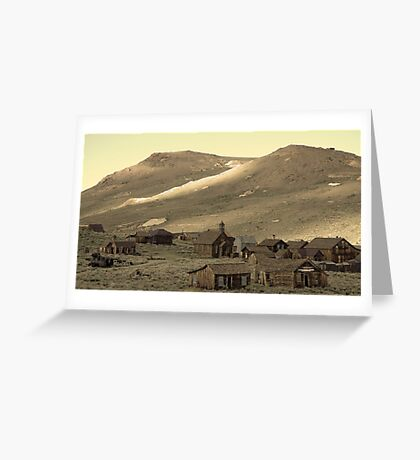Bodie California Greeting Card