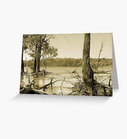 Lake Glenmaggie  Greeting Card