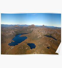 Cradle Mountain Day Walk Area Poster