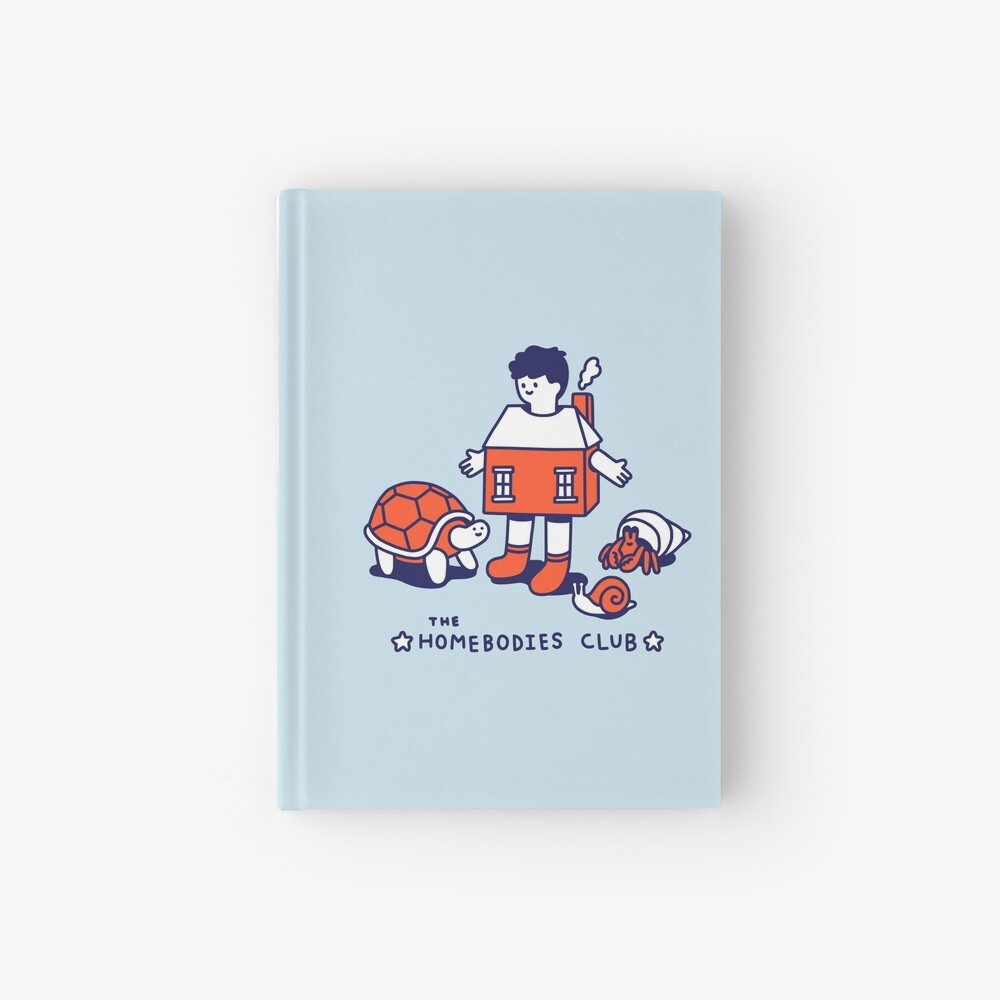 The Homebodies Club Hardcover Journal