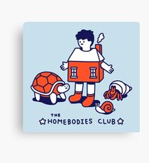The Homebodies Club Canvas Print