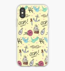 Larry Stylinson Complimentary Tattoo Pattern iPhone Case