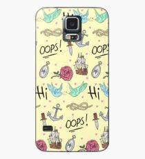 Larry Stylinson Complimentary Tattoo Pattern Case/Skin for Samsung Galaxy