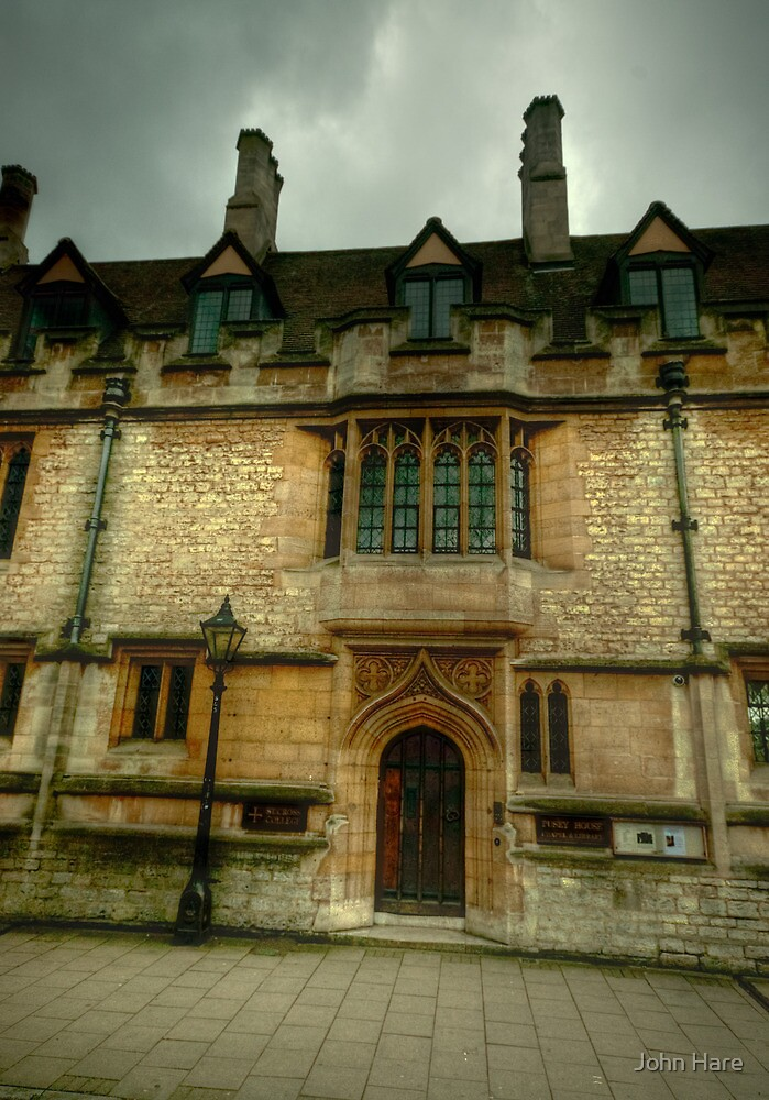 St Cross College Oxford by John Hare