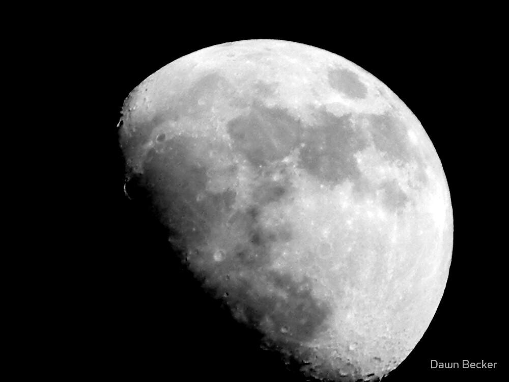 Moon over Milwaukee ©  by Dawn Becker