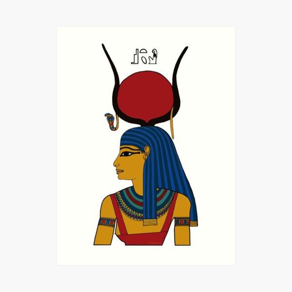 ASET I Göttin Ägypten Kunstdruck