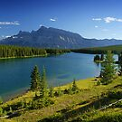 Two Jack Lake, Banff, Canada by Giles Clare