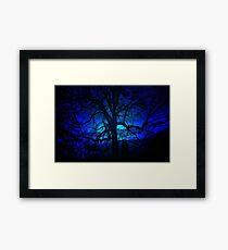 ~blue moon~ Framed Print