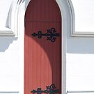 What's behind the red door? by Jay Armstrong