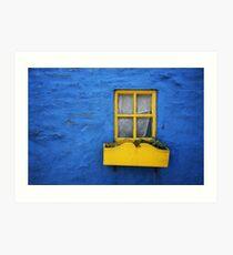 Kinsale Window Art Print