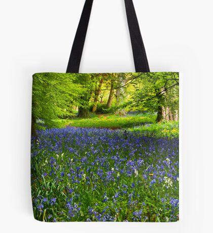 A Carpet of Bluebells Tote Bag