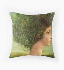 mystic tree Throw Pillow
