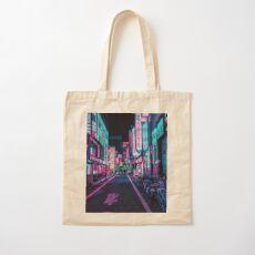 Tokyo - A Neon Wonderland Cotton Tote Bag