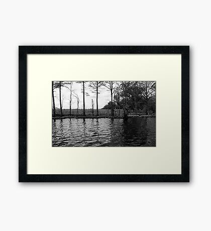 From the Pier Framed Print
