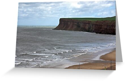 Saltburn Scar by Trevor Kersley