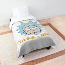 I'm Going To Go Take A Dump Rick And Morty Comforter