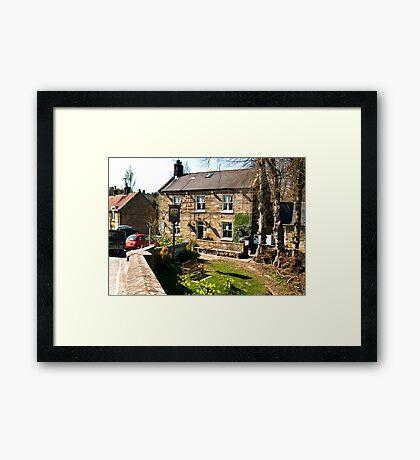 The Board Inn   -  Lealholm Framed Print