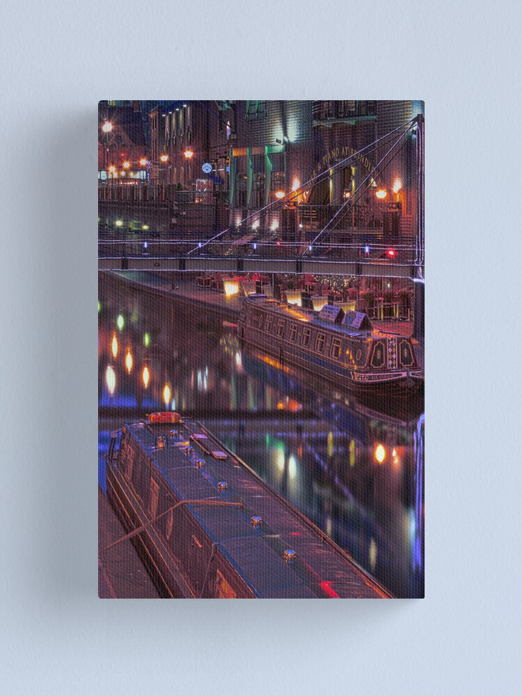 Alternate view of Electric Canvas Print