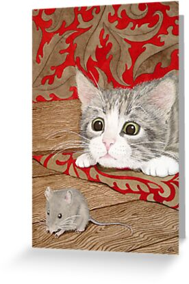 There's a mouse in the house! by aquartistic