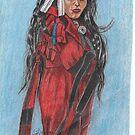 Indian Maiden by artbyjay
