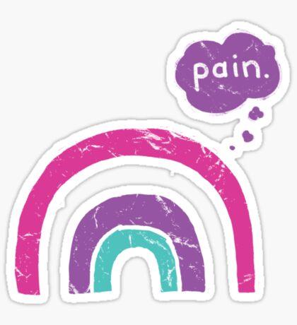 Goth Rainbow Sticker