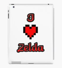 I Heart Zelda tee iPad Case/Skin