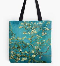 Vincent Van Gogh Blossoming Almond Tree Tote Bag