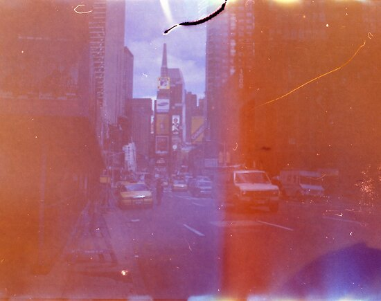 Times Square by Mandy Kerr
