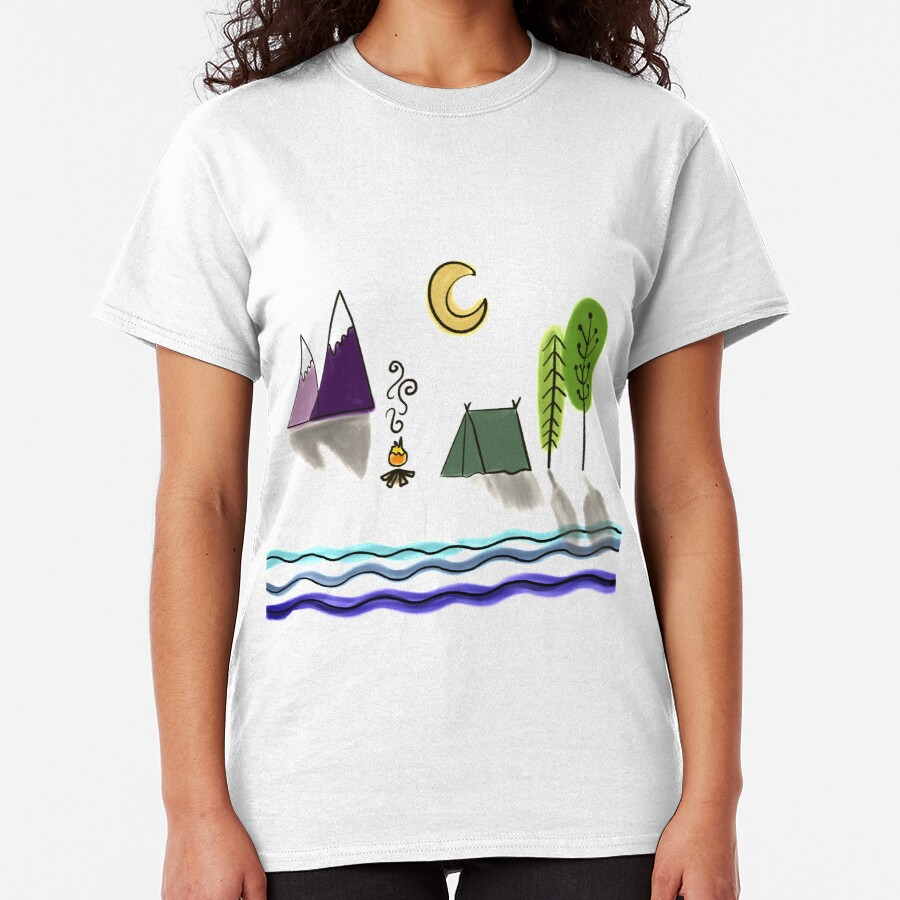Happy Camper by Jami Amerine Classic T-Shirt