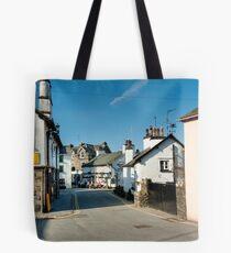 Main Street Hawkshead Cumbria Tote Bag