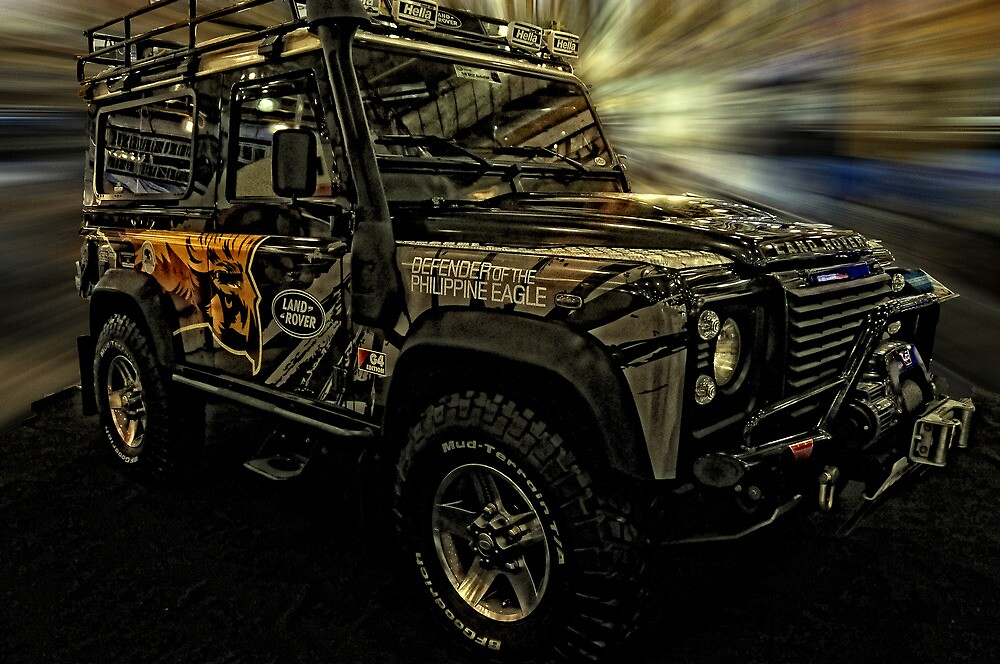 Land Rover Defender of the Philippine Eagle by jundiosalvador
