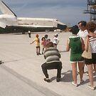 Shuttle Enterprise by Larry  Grayam