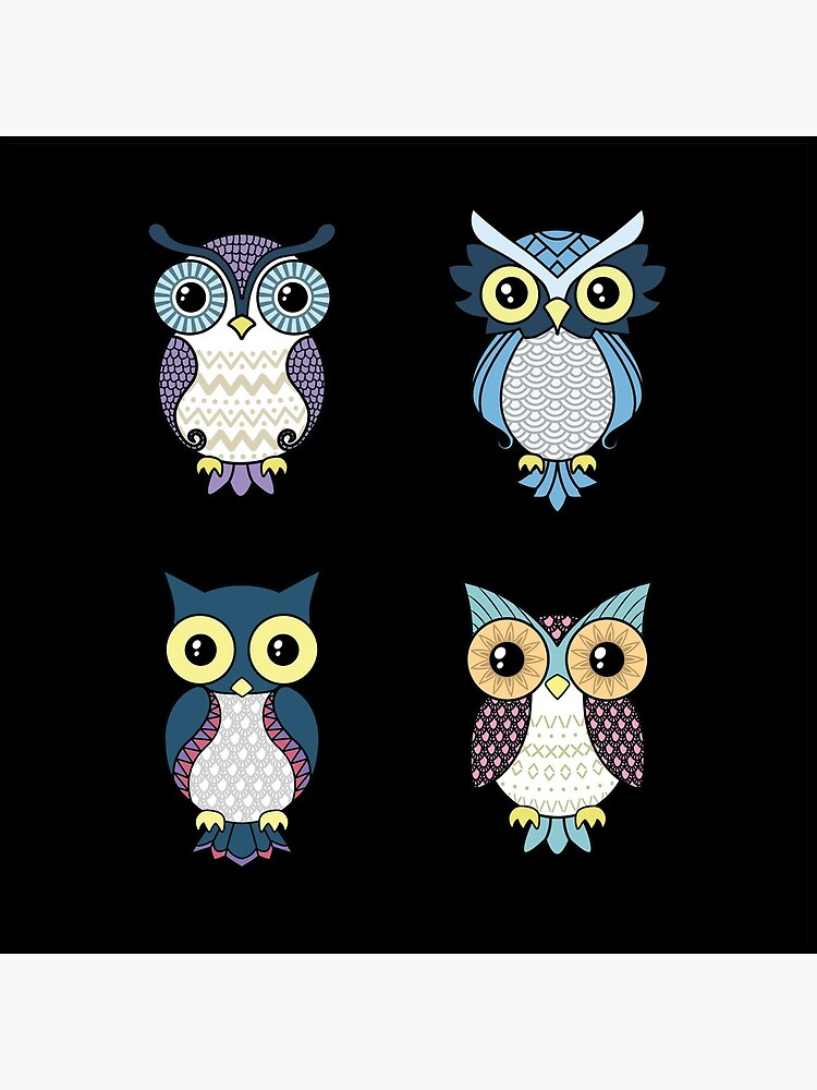 Owl pattern by laura-nagel
