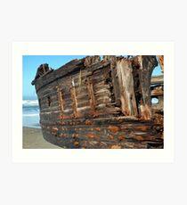 Shipwreck 1 Art Print