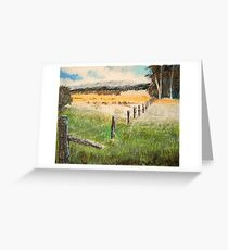 Adam Pearson's 'Fence and Fields' Greeting Card
