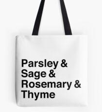 Parsley & Sage & Rosemary & Thyme Tote Bag
