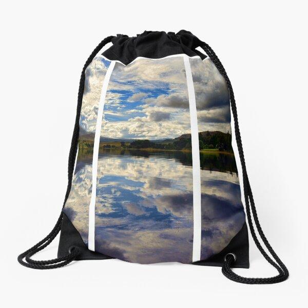 Water Reflections- Loch Rannoch-Highlands of Scotland(2) Drawstring Bag