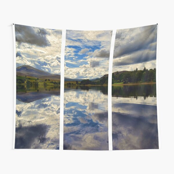 Water Reflections- Loch Rannoch-Highlands of Scotland(2) Tapestry